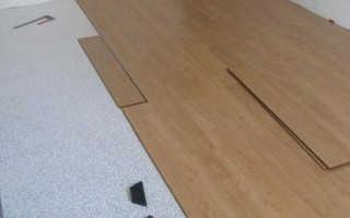 Можно ли класть ламинат на бетонную стяжку