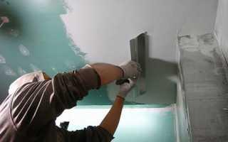 Можно ли шпаклевать по краске потолок