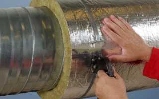 Как утеплить металлическую трубу дымохода своими руками