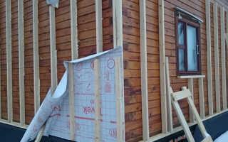 Как утеплить брусовой дом снаружи