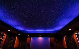 Как сделать потолок звездное небо своими руками