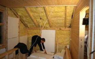 Как утеплить второй этаж деревянного дома