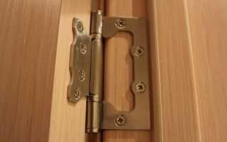 Как крепить петли на двери шкафа