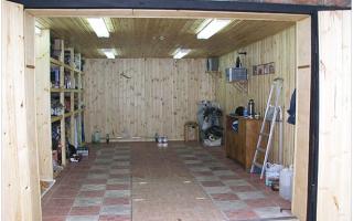 Как утеплить потолок в гараже изнутри