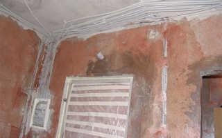 Как закрепить кабель на потолке