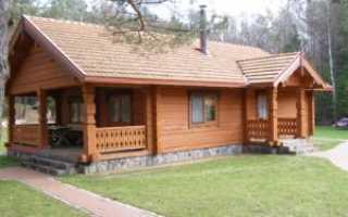 Фундамент для деревянного дома какой лучше