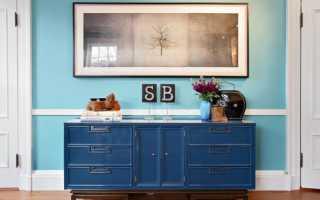 Можно ли покрасить мебель из ДСП