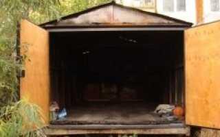 Как утеплить железный гараж изнутри своими руками