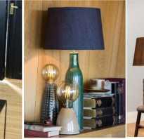 Как выбрать настольную лампу для работы