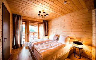 Какой потолок лучше сделать в деревянном доме