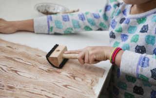 Как покрасить пластик под дерево своими руками