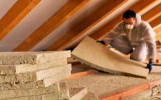 Как лучше утеплить потолок в частном доме