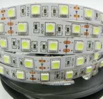 Как правильно установить светодиодную ленту на потолок