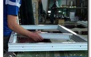 Как собрать пластиковое окно самому