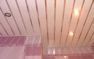 Как монтировать пластиковые панели на потолок