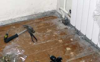 Как правильно положить ламинат на деревянный пол