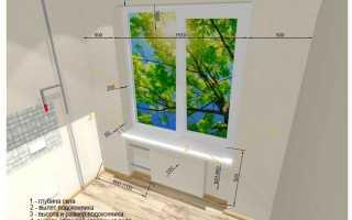 Как поставить подоконник к пластиковому окну