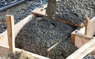 Какой маркой бетона заливать ленточный фундамент