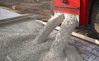 Сколько надо опгс на 1 куб бетона