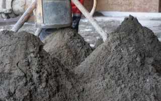 Что нужно кроме цемента чтобы получить бетон