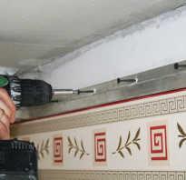 Сколько сантиметров съедает натяжной потолок
