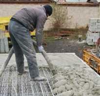Высыхание бетона сколько ждать