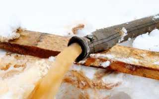 Прокачка скважины после зимы