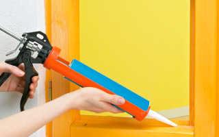 Можно ли красить силиконовый герметик