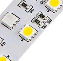 Зачем нужны резисторы в светодиодных линейках