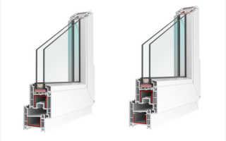 Как определить сколько камер в пластиковом окне