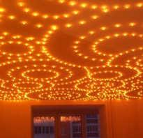 Как называются лампочки в натяжном потолке