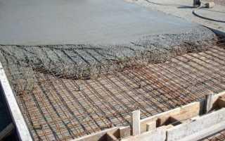 Как правильно залить площадку бетоном под машину