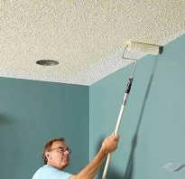 Акриловая краска для потолка какая лучше