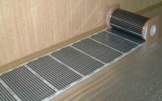 Как правильно положить теплый пол под ламинат