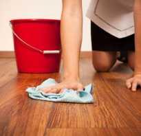 Как мыть полы из ламината без разводов
