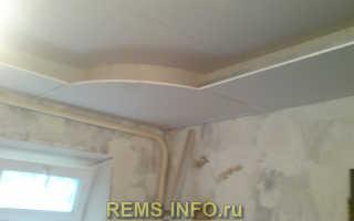 Как сделать 2х уровневый потолок из гипсокартона