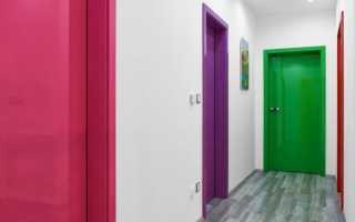 Можно ли покрасить шпонированную дверь