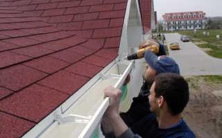 Как крепить отливы на крышу