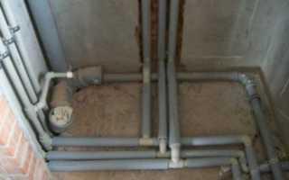 Можно ли полипропиленовые трубы заливать бетоном