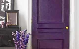 Как покрасить старые деревянные двери