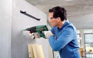 Как просверлить бетонный потолок дрелью