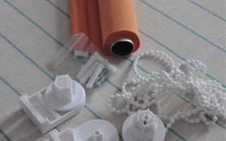 Как крепятся рольшторы на пластиковые окна