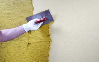 Как правильно нанести декоративную штукатурку на стены