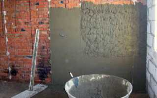 Какую штукатурку выбрать гипсовую или цементную