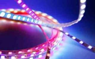 Почему моргает светодиодная лента при выключенном свете