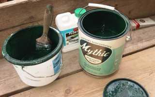Как развести водоэмульсионную краску для потолка