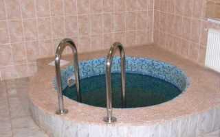 Как сделать купель для бани своими руками