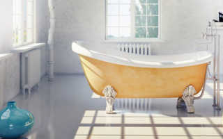Какие бывают ванны материал