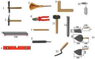 Как выкладывать декоративный кирпич в квартире