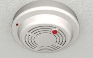 Как снять пожарный датчик с потолка